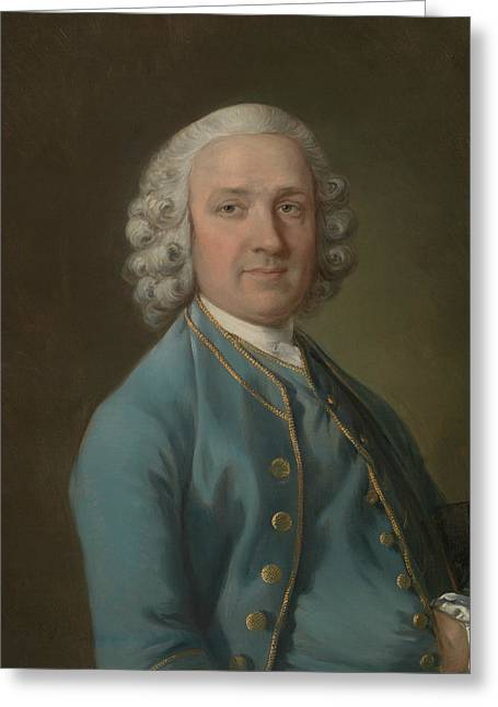 A Man Called Mr. Wood The Dancing Master  Greeting Card by Thomas Gainsborough