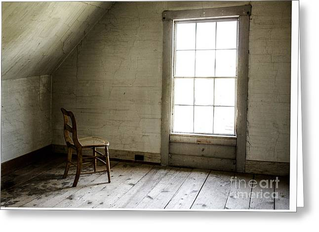 Abandoned   Greeting Card by Diane Diederich