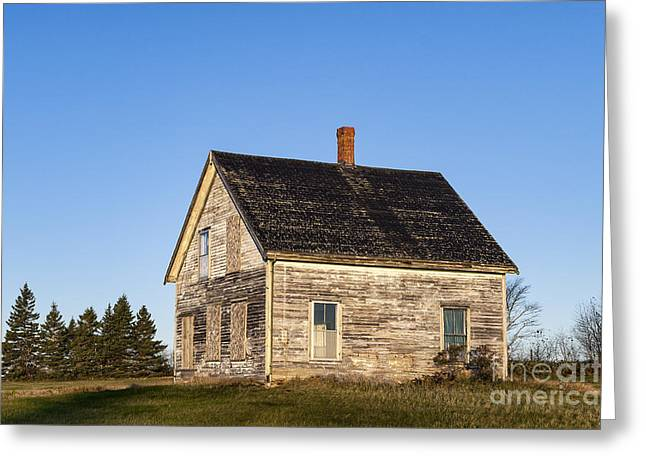 Abandoned House Greeting Card by John Greim