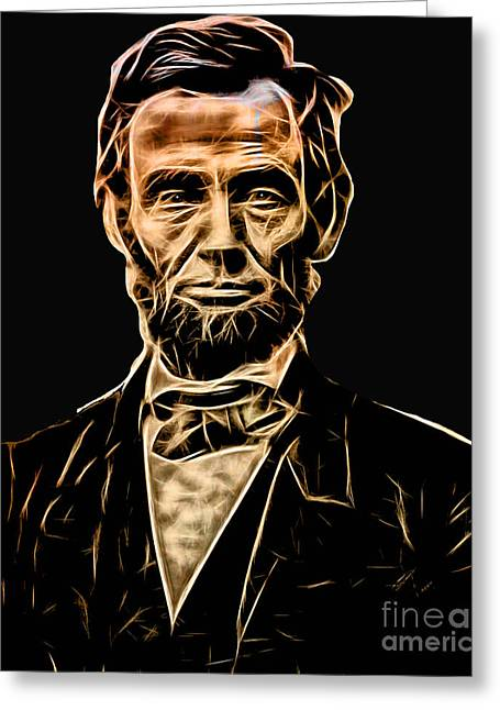 Abraham Lincoln Collection Greeting Card