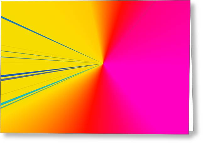 Abstract Greeting Card by Contemporary Art