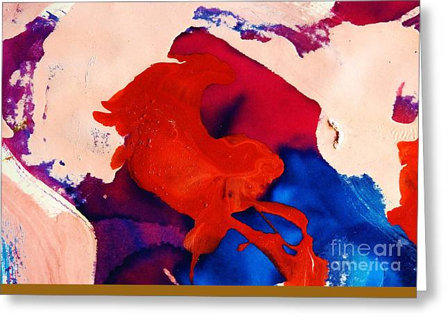 Abstracto Greeting Card by Fredy Holzer