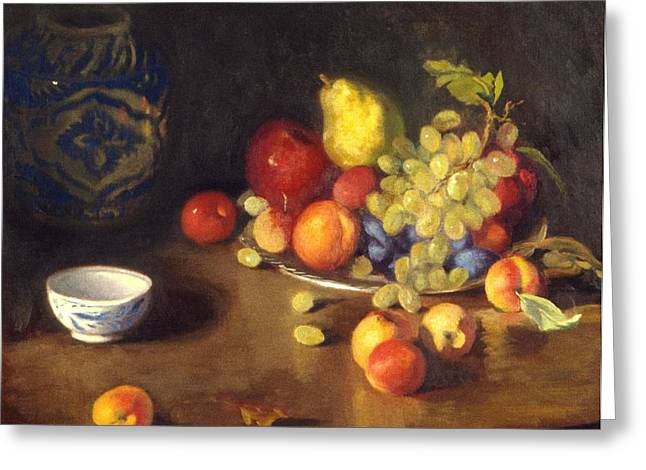 Abundance Of Fruit Greeting Card by David Olander