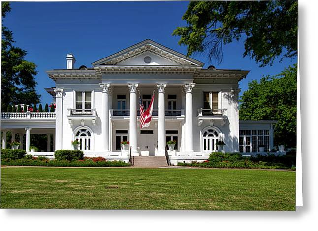 Alabama Governor's Mansion Greeting Card by Mountain Dreams