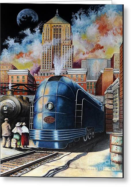 All Aboard Greeting Card