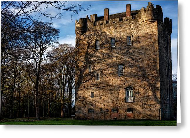 Greeting Card featuring the photograph Alloa Tower by Jeremy Lavender Photography