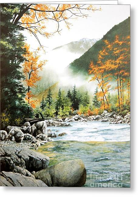 Alpine Tapestry Greeting Card