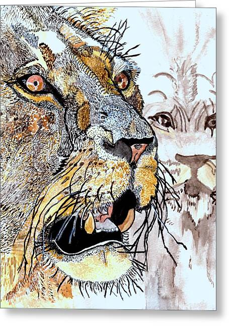 Always The King Greeting Card by Connie Valasco