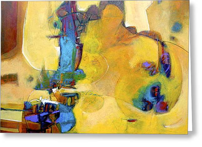 Amarillo Greeting Card by Dale  Witherow