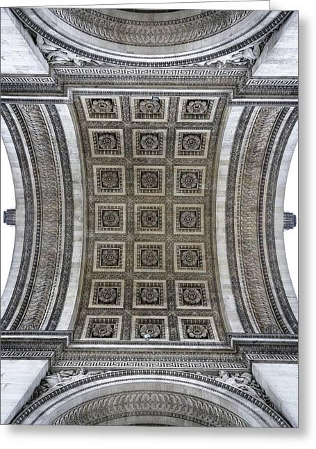 Arc De Triomphe Detail Greeting Card