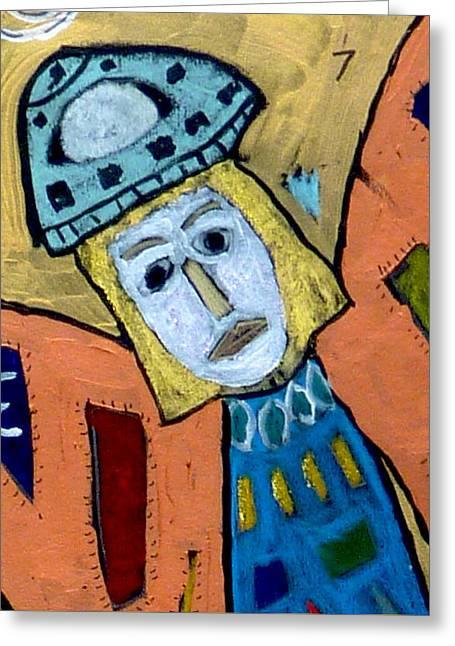 Archangel Zadkiel Greeting Card