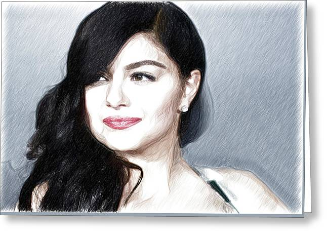 Ariel Winter Poster Greeting Card by Best Actors