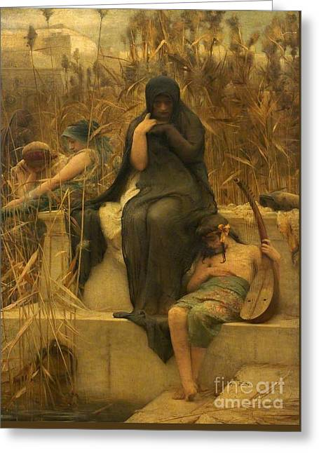 Arthur Hacker  Greeting Card by MotionAge Designs