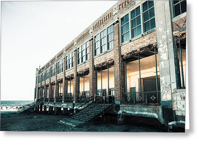 Asbury Park Convention Hall Greeting Card by Erin Cadigan