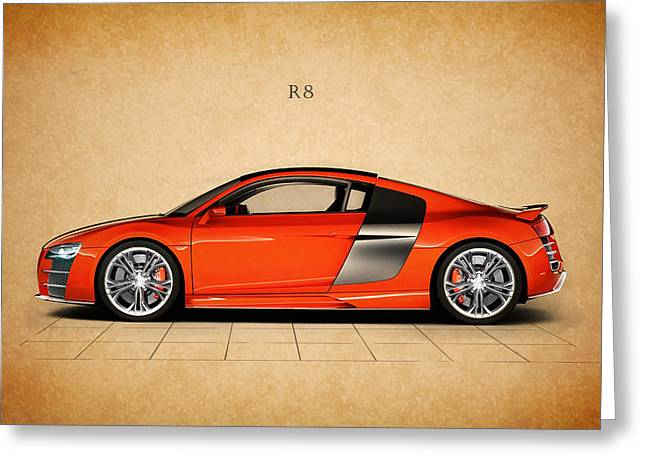The R8 Greeting Card