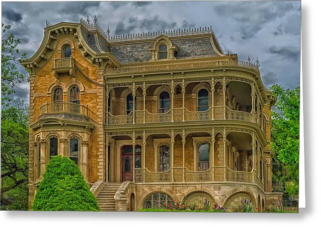 Austin's Historic Bremond House Greeting Card by Mountain Dreams