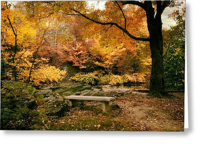 Autumn Respite Greeting Card