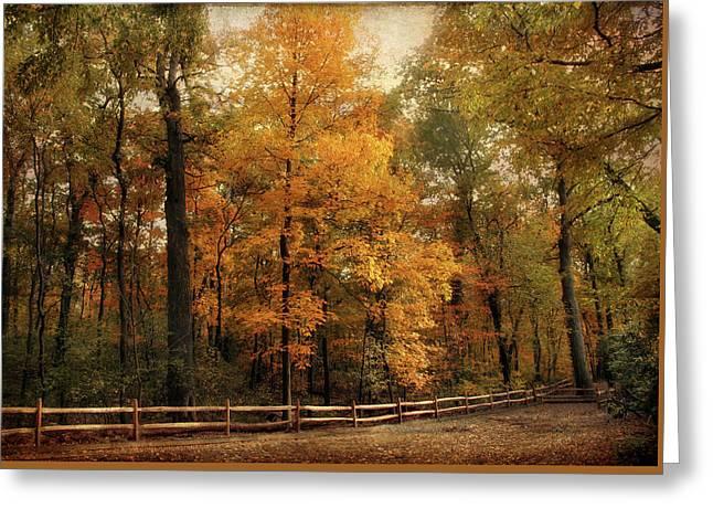 Autumn Trail Greeting Card