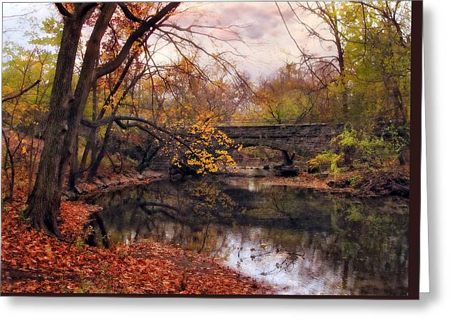 Autumn's Ending Greeting Card by Jessica Jenney