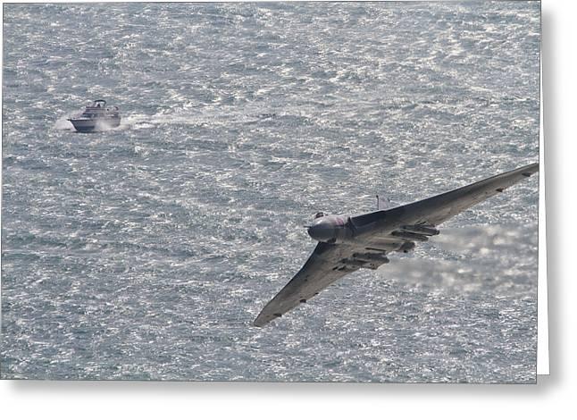 Avro Vulcan  Greeting Card