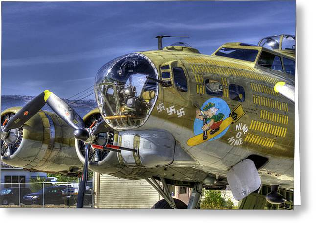 B-17 Greeting Card