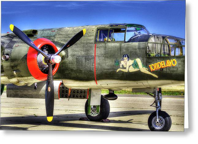 B-25  Greeting Card by Joe  Palermo