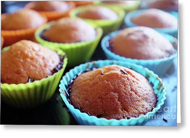 Baked Cupcakes Greeting Card