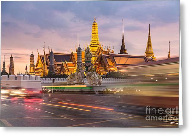 Bangkok Wat Phra Keaw Greeting Card