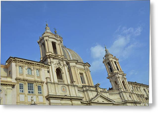 Baroque Church Greeting Card by JAMART Photography