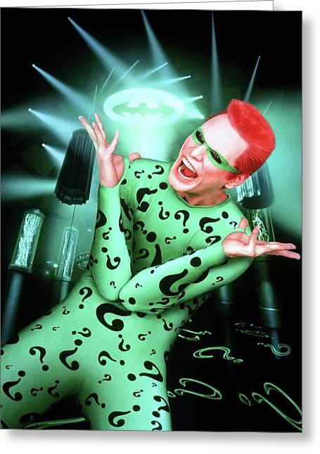 Batman Forever 1995  Greeting Card