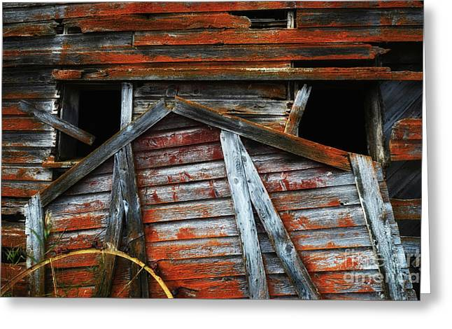 Beauty Of Barns 8 Greeting Card