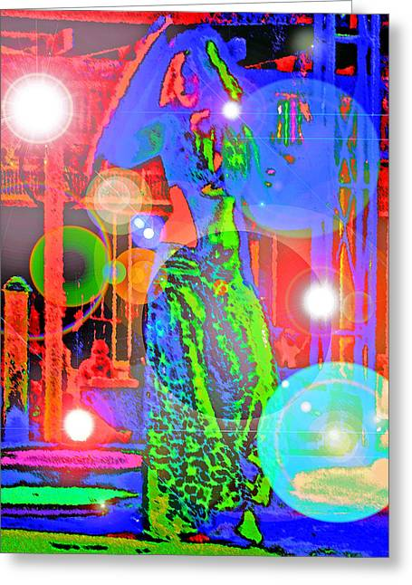 Belly Dance Greeting Card