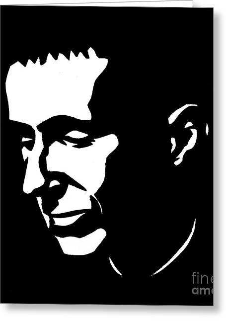Bertolt Brecht (1898-1956) Greeting Card