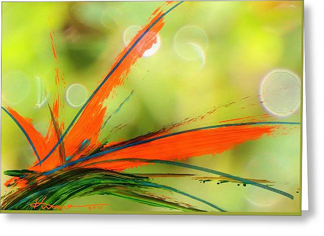 Bird Of Paradise 2 Greeting Card