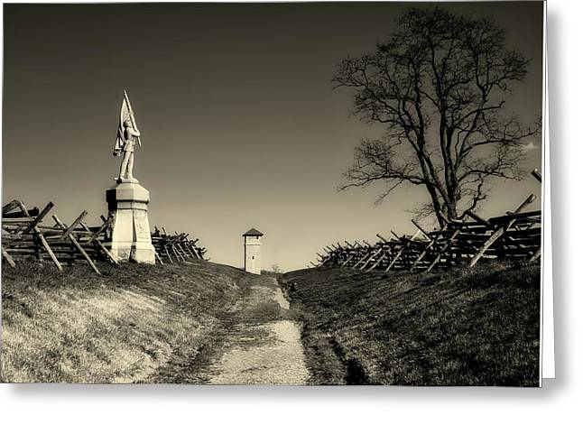 Bloody Lane - Antietam Greeting Card