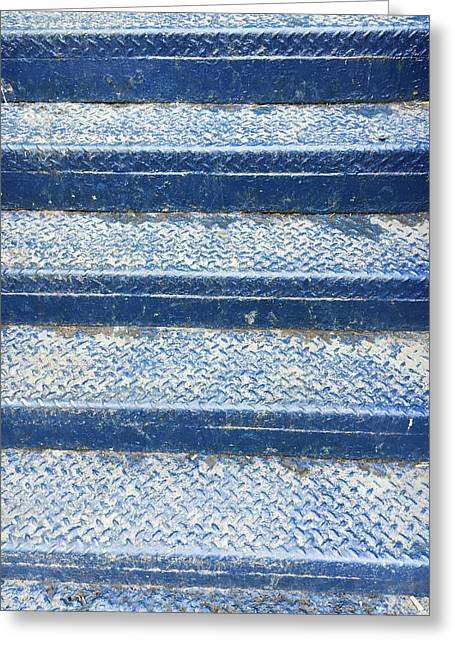 Blue Steps Greeting Card