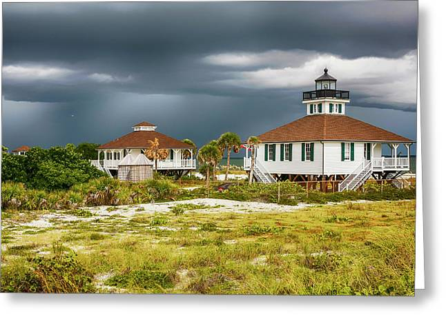 Boca Grande Fl Greeting Card