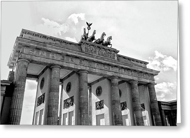 Brandenburg Gate - Berlin Greeting Card
