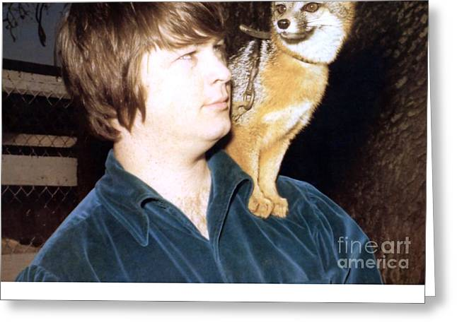 Brian Wilson Of The Beach Boys 1966. Greeting Card by The Titanic Project