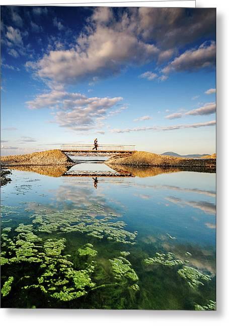 Bridge Greeting Card by Okan YILMAZ