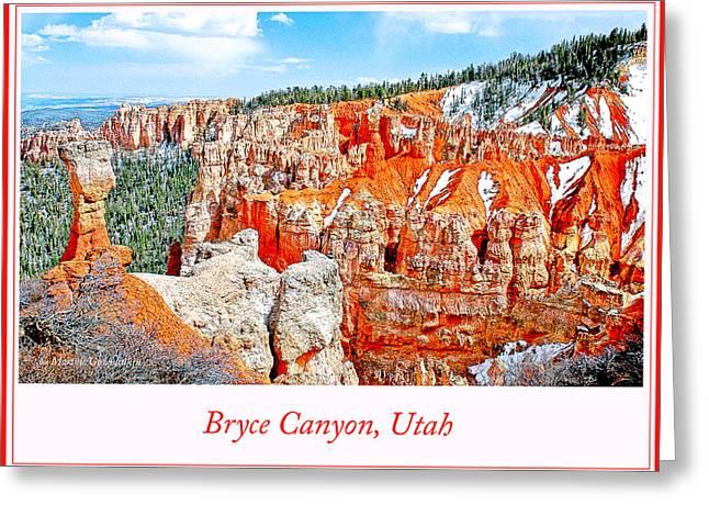 Bryce Canyon, Utah Greeting Card by A Gurmankin