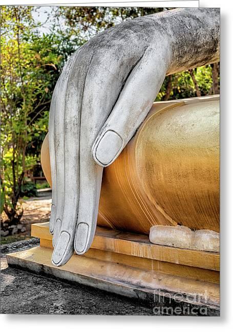 Buddha Hand Greeting Card