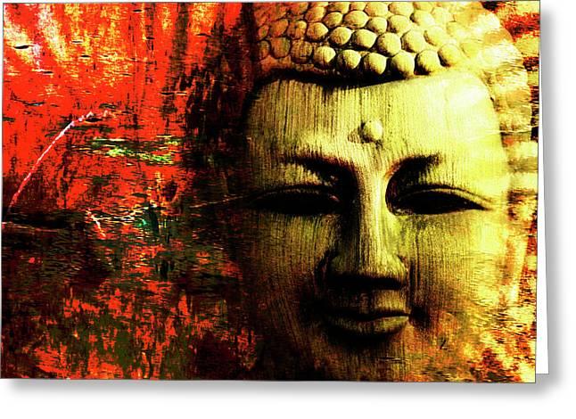 Buddha  Greeting Card by Skip Nall