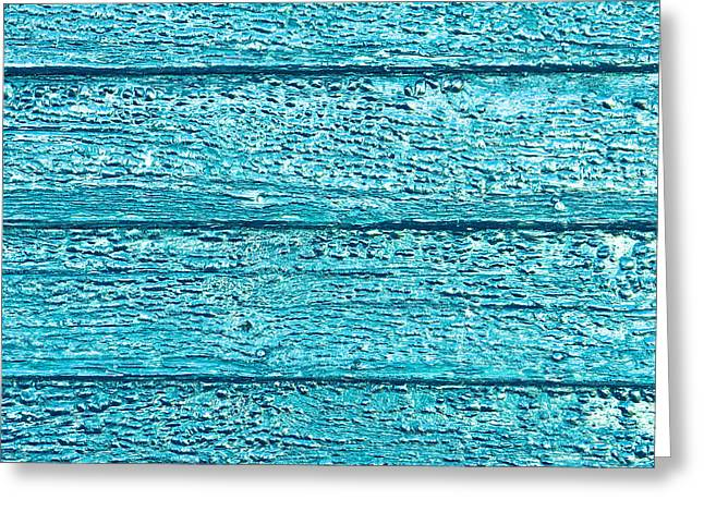 Bumpy Wooden Surface Greeting Card