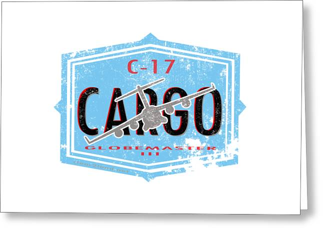 C-17 Cargo Greeting Card by Clear II land Net