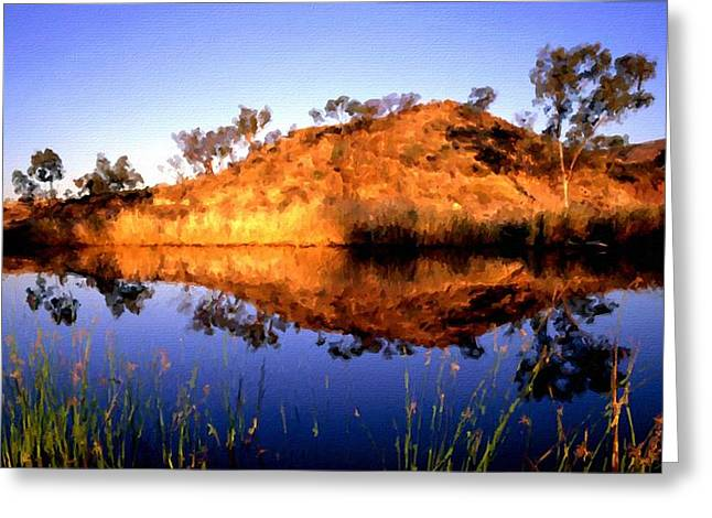 C S Landscape Greeting Card by Victoria Landscapes