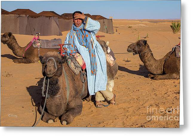 The Camel Driver Greeting Card