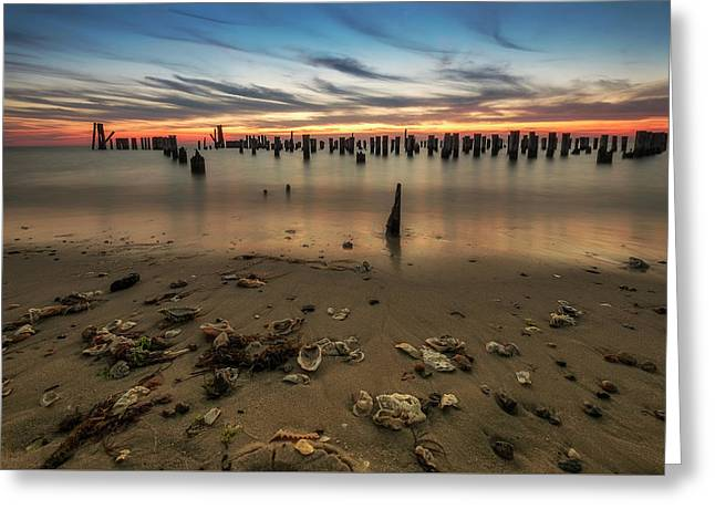 Greeting Card featuring the photograph Cape Charles by Kevin Blackburn