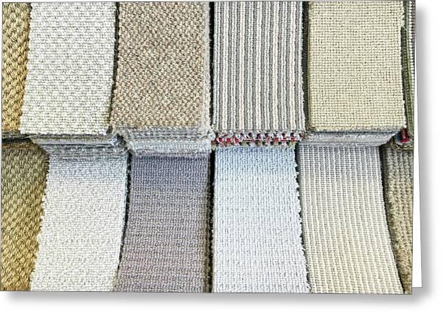 Carpet Shades Greeting Card by Tom Gowanlock