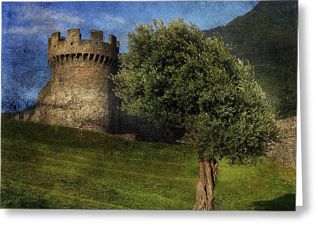 Olives Photographs Greeting Cards - Castle Greeting Card by Joana Kruse